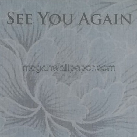 Wallpaper See You Again