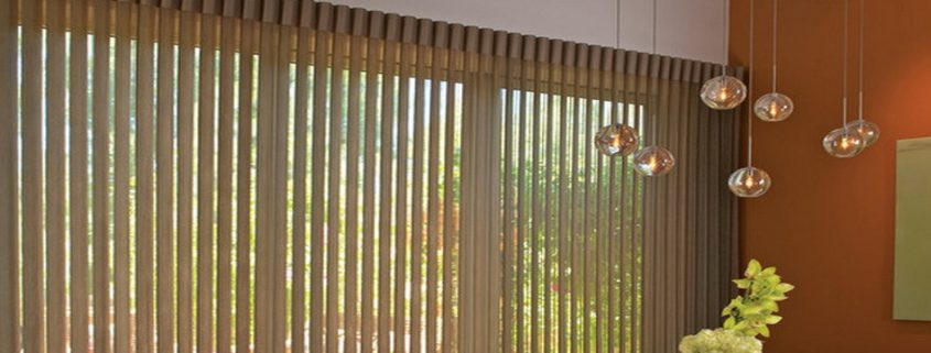 vertical blinds sharp point